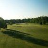 View of a fairway and green at Mattawang Golf Club