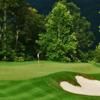 A view of a green at Bear Lake Golf Club