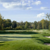 View of a bunkered green at White Clay Creek Country Club at Delaware Park