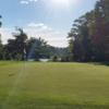 A sunny day view of a hole at Great Bear Golf Club