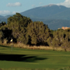 A view of a hole at Sunset Course from Las Campanas