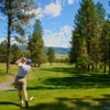 A view from the 1st tee at Meadow Creek Golf Resort