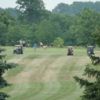 A view of a fairway at Maple Lane Country Club