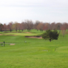 A view of a tee at Brookhill Golf Course
