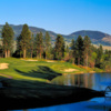 A view of the 18th hole at Quail from Okanagan Golf Club