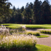 A view of hole #15 at Pine Meadow Golf Club