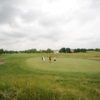 A view of a hole defended by bunkers at Ironwood Golf Course