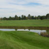 A view over the water from Cool Lake Golf Course