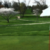 A spring view from a green at Washington Country Club