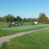 A view of a tee at Pleasant Valley Sports Club