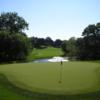 A view of a green at Crow Valley Golf Club