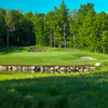 A view of hole #5 at Belgrade Lakes Golf Club
