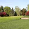 A view of a green at River Bend Golf Course