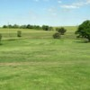 A view of a green at Cedar Hills Golf Course