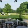 A view from the terrace at Bellefonte Country Club