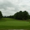 A view of a hole at Bangor Golf Course