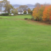 A fall view from Castine Golf Club