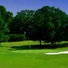 A view of green #13 at Chesapeake Hills Golf Club