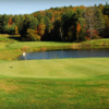 A view of a green at Edge Hill Golf Course