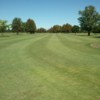 A view of a fairway at Greenville Golf Course