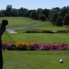 A view from a tee at Dixie Golf Club