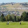 A view from Highland View Golf Club