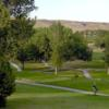 A view of a tee at Cottonwood Country Club