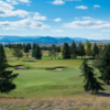 A view of a green at Champion from Fox Ridge Golf Course