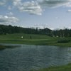 A view of the 18th hole at North from Bretwood Golf Course