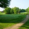 A view of a green at Bretwood Golf Course
