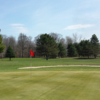 A view of a green at Eagle Brook Golf Club