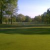 A view of the 16th green at Mueller's Valley View Farm Golf Course
