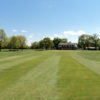 A view of the 9th green at Buffalo Heights Golf Course