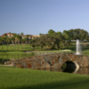 "View from no. 8 (""Island Green"") on El Campeon Course at Mission Inn"