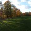 A view from a tee at Cuyuna Rolling Hills