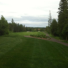 A view from a tee at Eveleth Golf Course