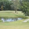 A view over a pond at Morgan Hills Golf Course