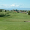 A view of the 2nd green at Bear Lake Golf Course