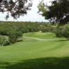 A view of green #8 at The Hideout Golf Club