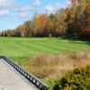 A fall view of a hole at Arrowhead Golf Course