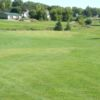A view of a green at Prairie Ridge Golf Course
