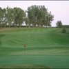 A view of a green at Mountain Lake Golf Course