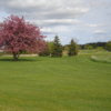 A view from fairway #4 back to green #5 at Pine City Country Club