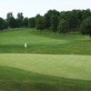 A view of the 8th green at Eagle Creek Golf Club