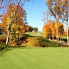 A fall view from a tee at Trump National Golf Club