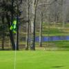 A view from a green at Waterways Golf Resort