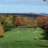 A fall view from Vails Grove Golf Course