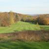 A view of a fairway at Sedgewood Golf Club
