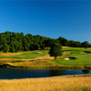 A view of the 11th and 14th holes  from the Donald Ross Course at French Lick Resort