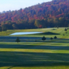 A fall day view from a tee at Knickerbocker Country Club